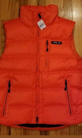 c7bf49c89f848 Ralph Lauren RLX Jackets & Coats | Mens Hood Size Medium Down Vest ...